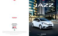 First page of the Honda Jazz Brochure
