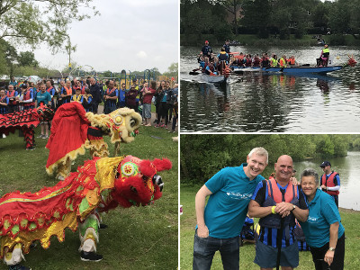 Montage of the 2019 Dragon Boat Race