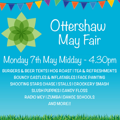 The Ottershaw Village May Fair 2018 Poster