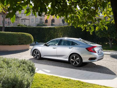 The new four door Civic saloon arriving in August