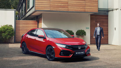 The Honda Civic 2017