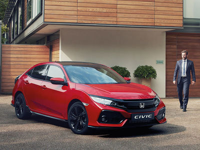 At home with the Honda Civic