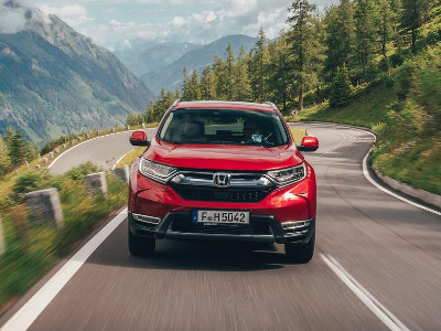 The 2019 CR-V - an engaging driving experience