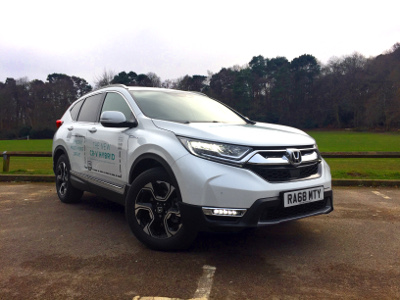 Our new Honda CR-V Hybrid demonstrator
