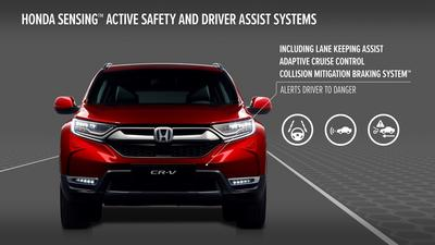 Honda SENSING Active Safety and Driver Assist Systems
