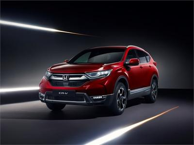 The 2019 Honda CR-V - Front Side