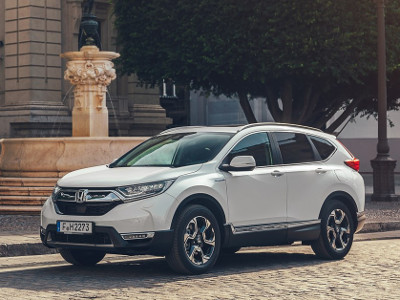 The 2019 Honda CR-V Hybrid