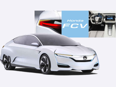 The Honda FCV Concept