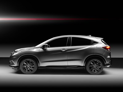 Side view of the HR-V 1.5 Sport