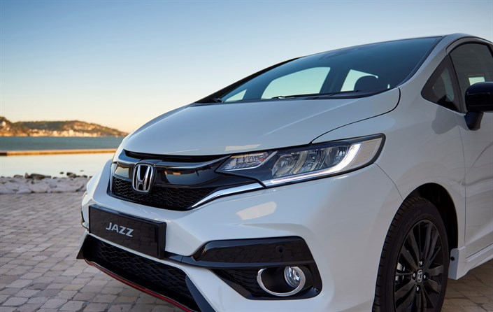 The 2018 Honda Jazz - Close Front