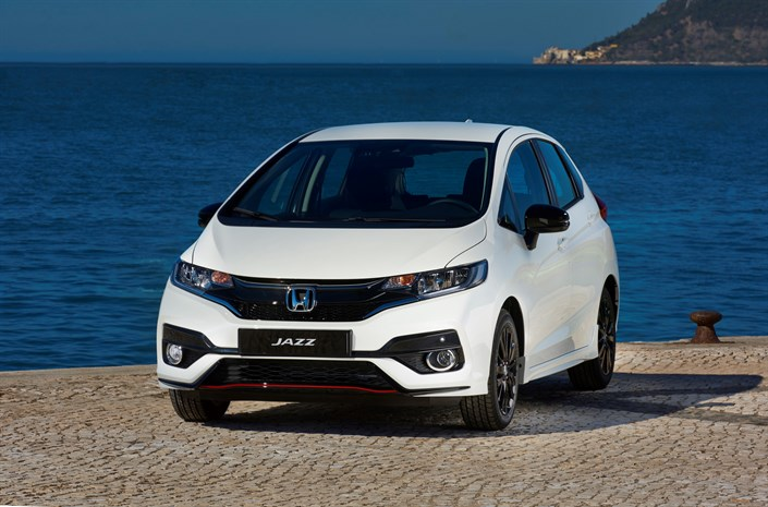 The 2018 Honda Jazz - Front View
