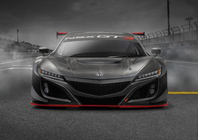 The new NSX GT3 Evo