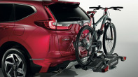 The 2019 Honda CR-V with bicycle rack