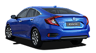 The 2018 Honda Civic 4 Door