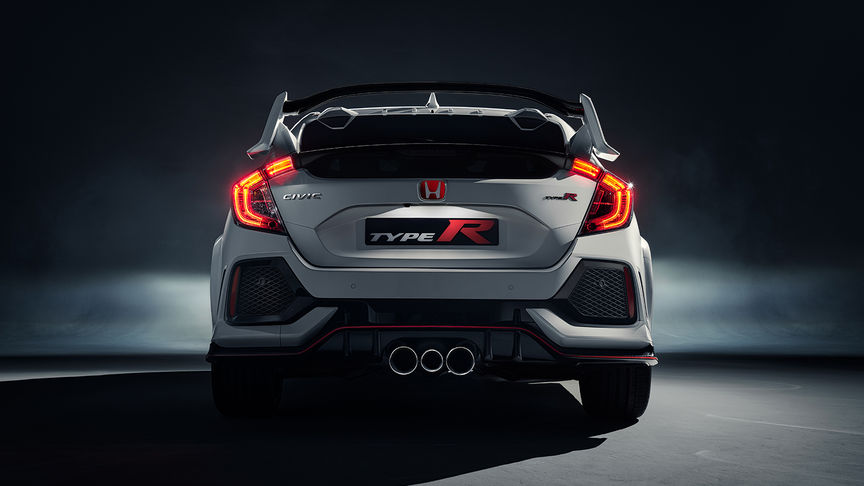 Civic Type R - Rear View