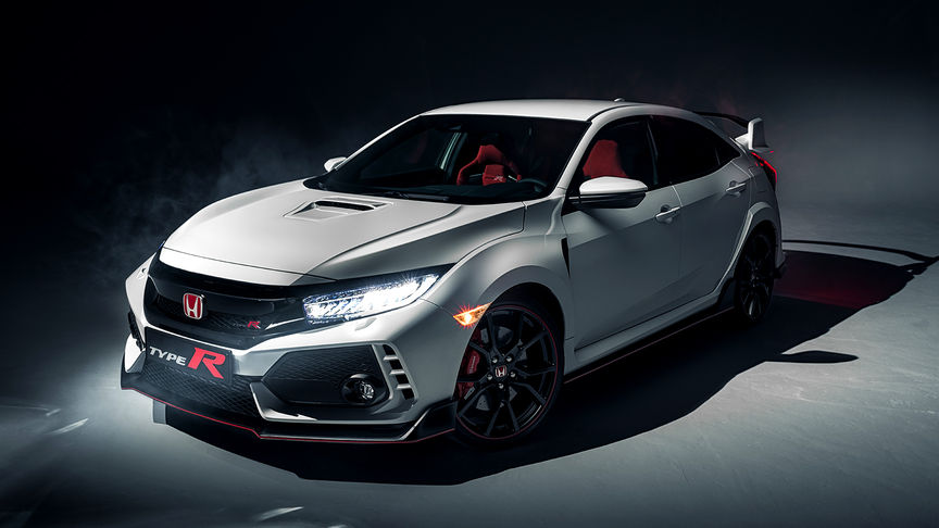 Civic Type R - Front Side View