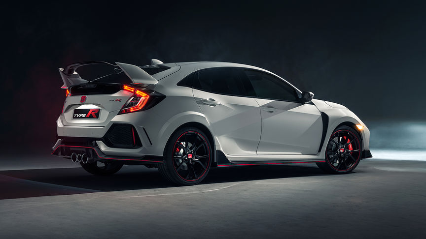 Civic Type R - Rear Side View