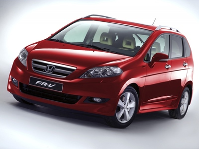 Honda's Six Seat FR-V Revised for 2007