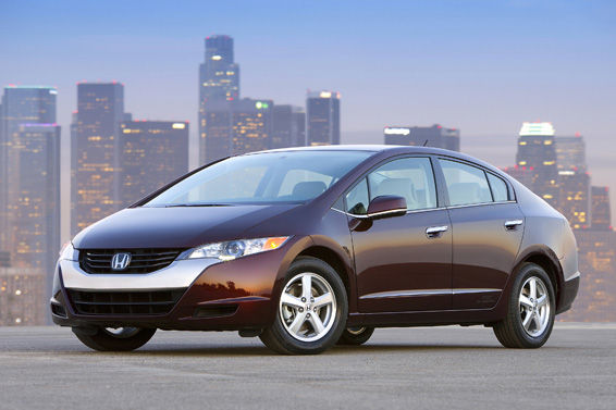 Honda FCX Clarity announced as the World Green Car.