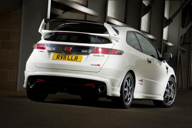 Honda Civic MUGEN rear view