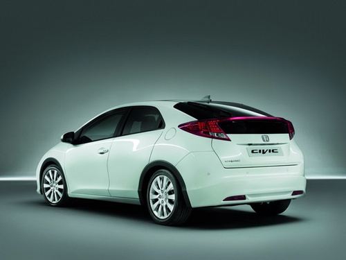 Honda Civic 2012 Rear