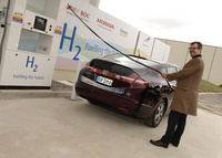 Hydrogen Refuelling Station Opens at Honda in Swindon