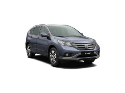 New Honda CR-V webpage
