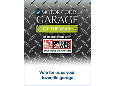 Motor Codes - Garage of the Year