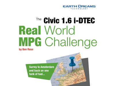 Civic 1.6 i-DTEC Real World MPG Challenge
