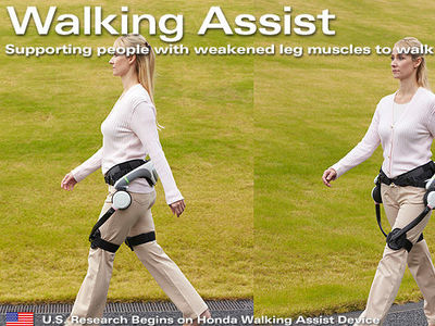 Honda Walking Assist device in large-scale trials