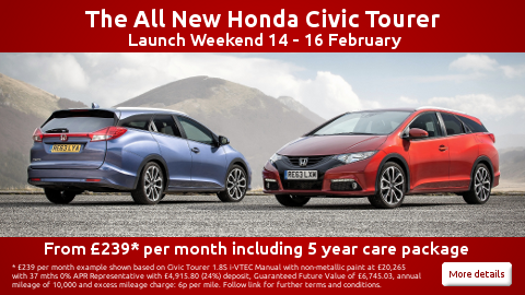 Launch of the Civic Tourer