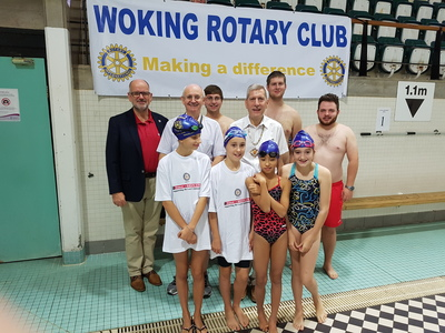 Woking Rotary Swimathon hits its tenth year