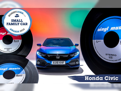Honda took Hat Trick at Honest John Awards