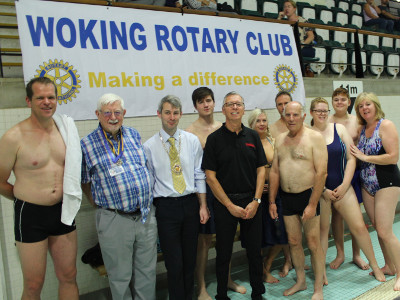 The Woking Rotary Swimathon 2018