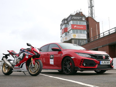 Honda Uk To Supply Cars And Motorcycles For The 2019 Isle Of Man Tt