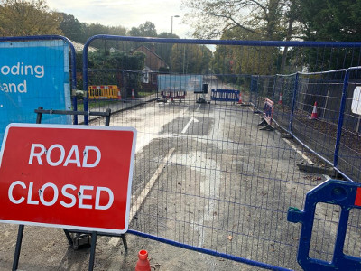 A320 Guildford Road Emergency Sewerage Repairs Completed