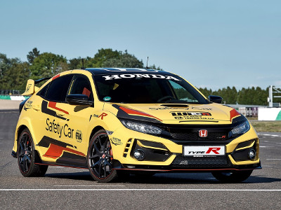 Honda Civic Type R Limited Edition - the 2020 WTCR Official Safety Car