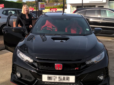 Our second Civic Type R Handover