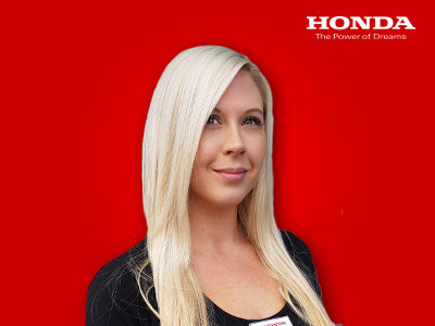 Our new service advisor Charlotte Cawser