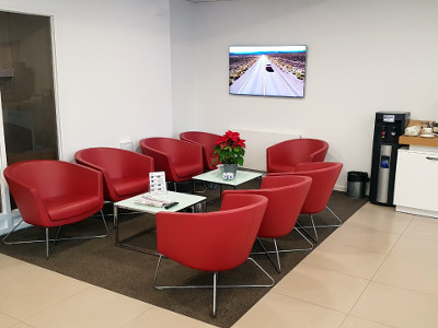 Our customer waiting area