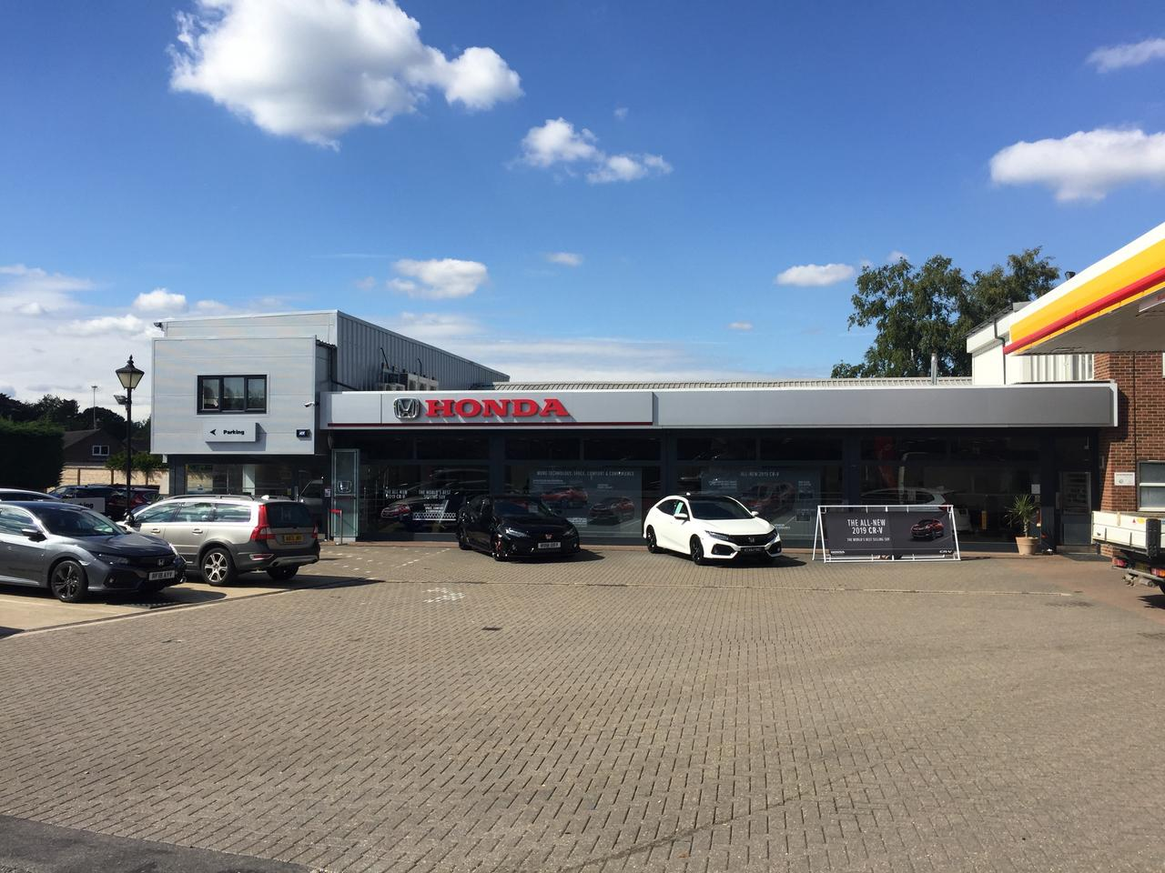 Our new showroom - front view